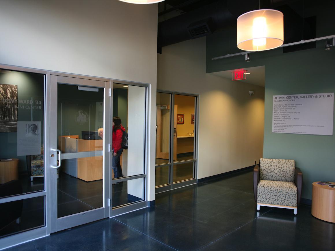 Photo of Dewy Ward '34 Alumni Center