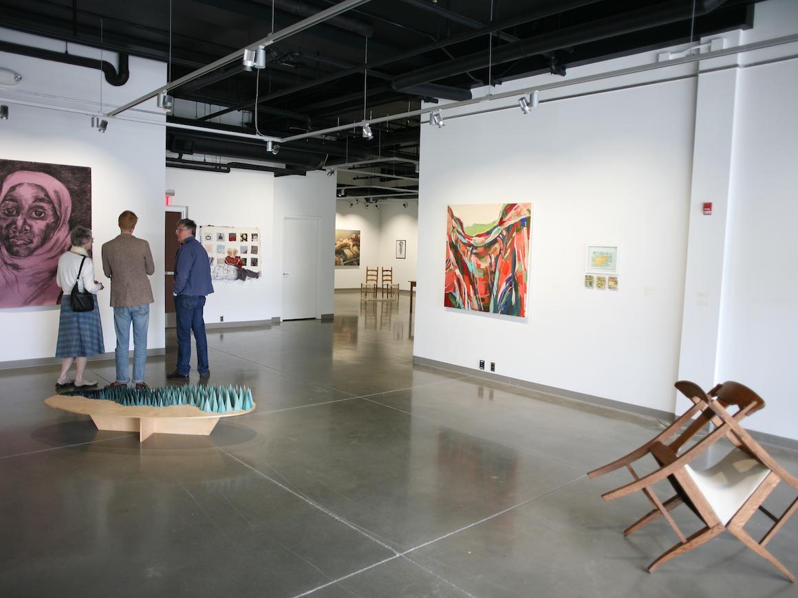 Interior of the Baron Art Gallery