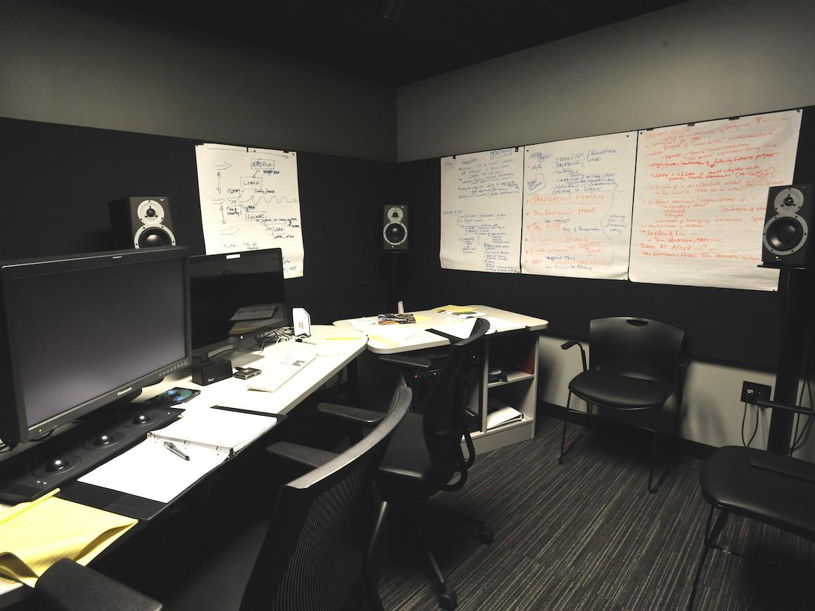 image of postproduction lab space