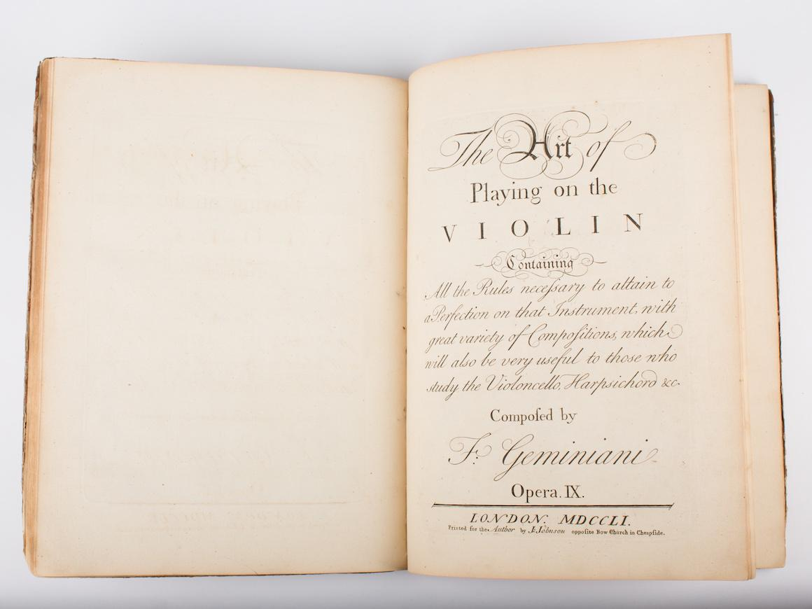Photo of a text stored in the College Archives