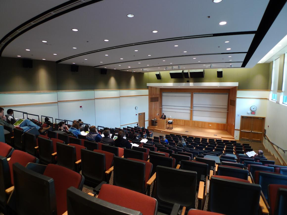 Photo of Nancy Schrom Dye Lecture Hall
