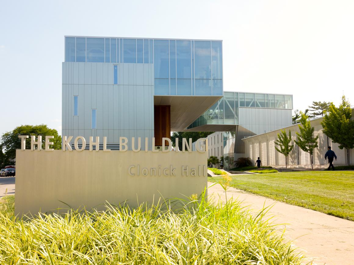 exterior image and sign for the Kohl Building