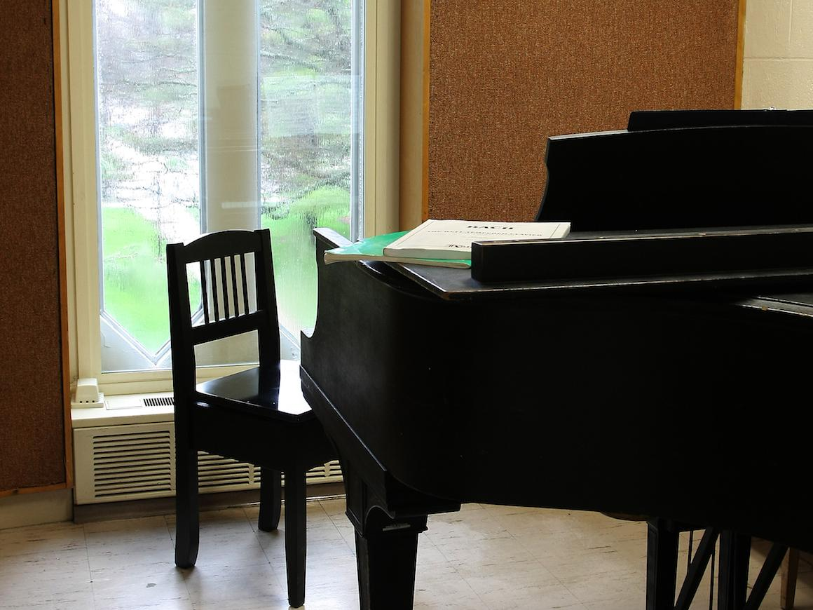 Robertson Hall practice room