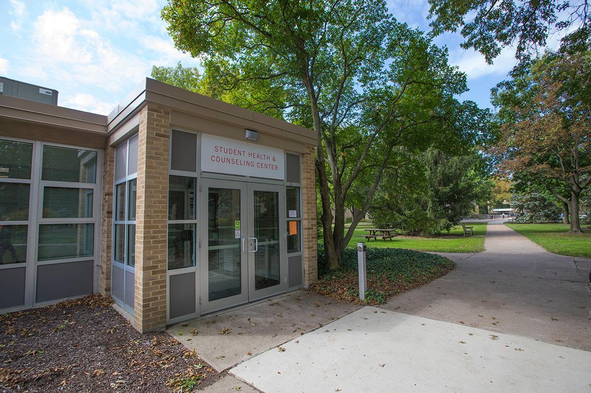 Facility entrance.