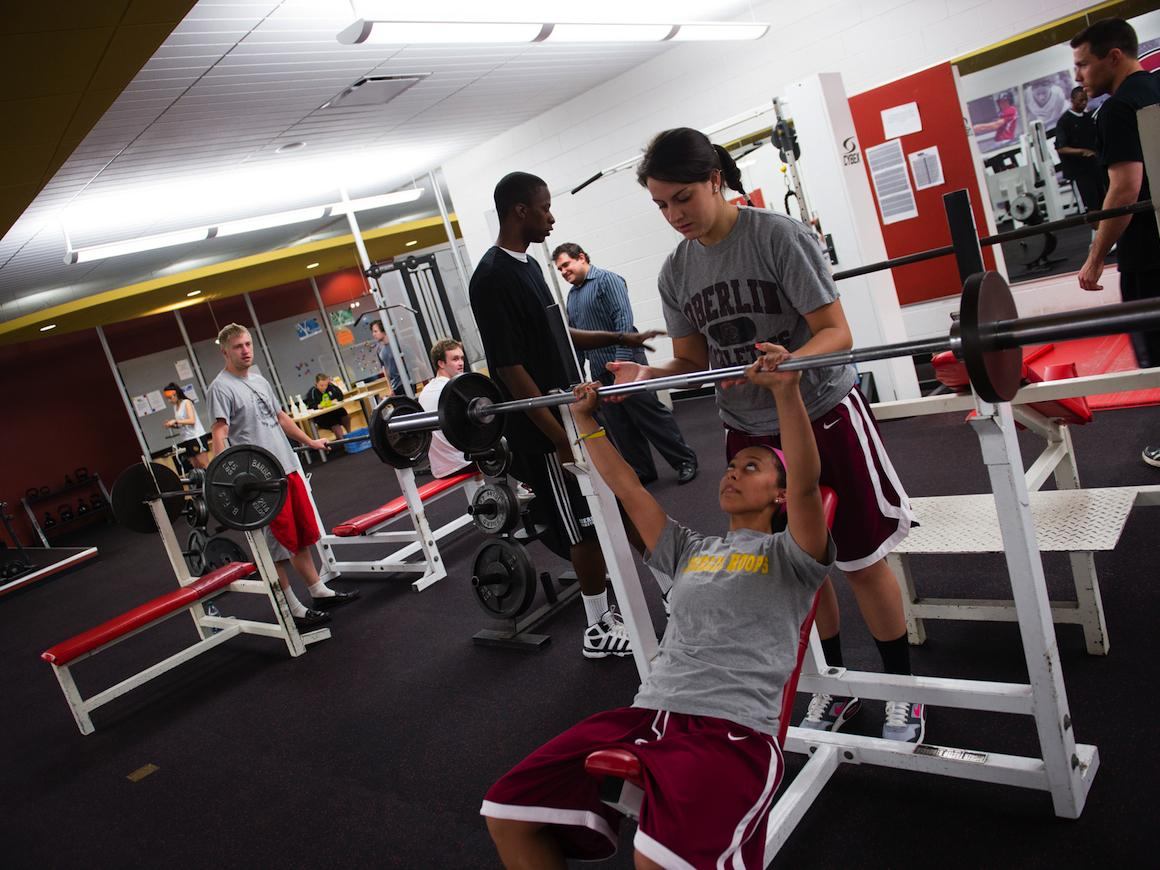 Weight Room in Philips