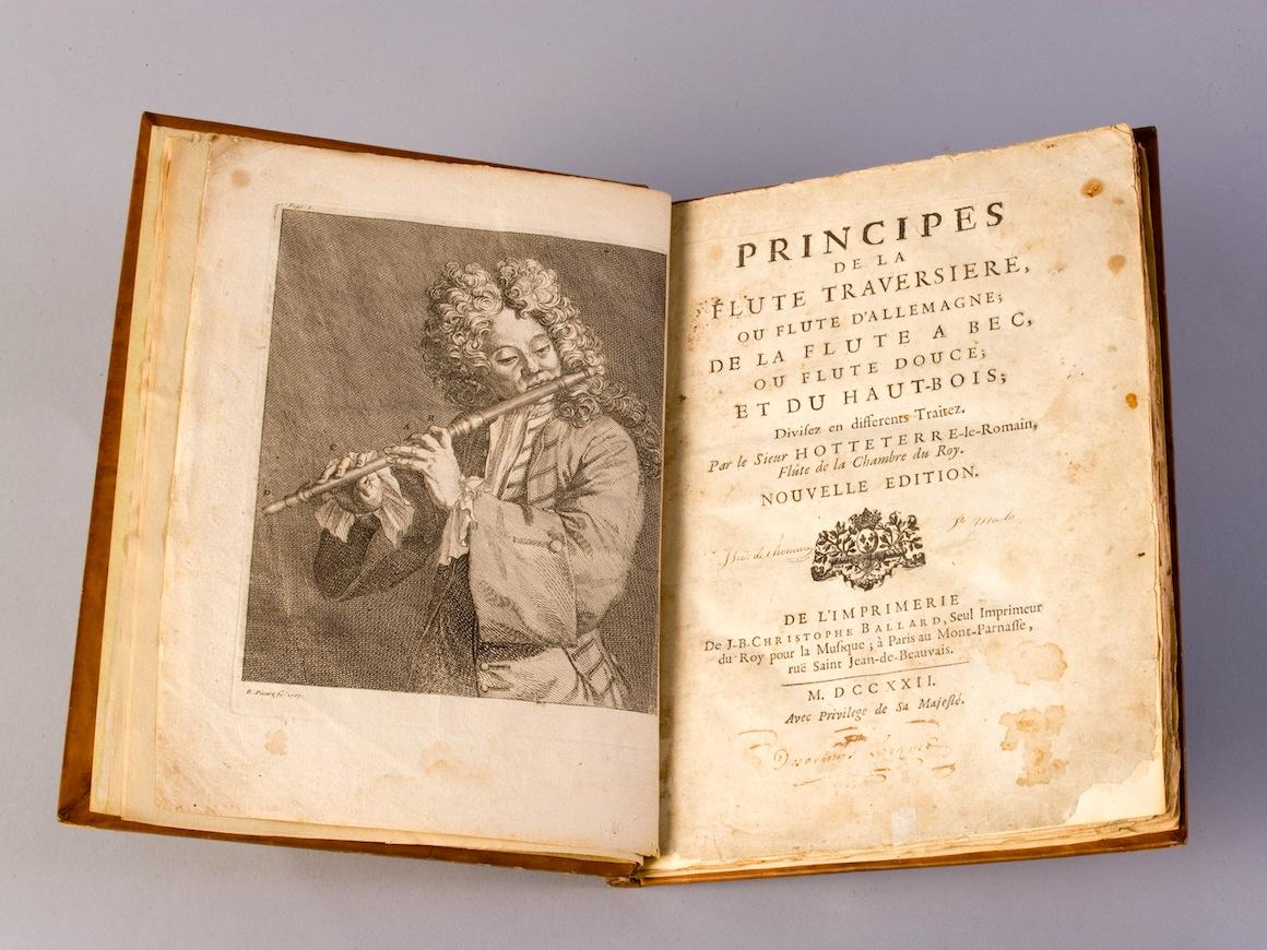 a book about the principles of the transverse flute