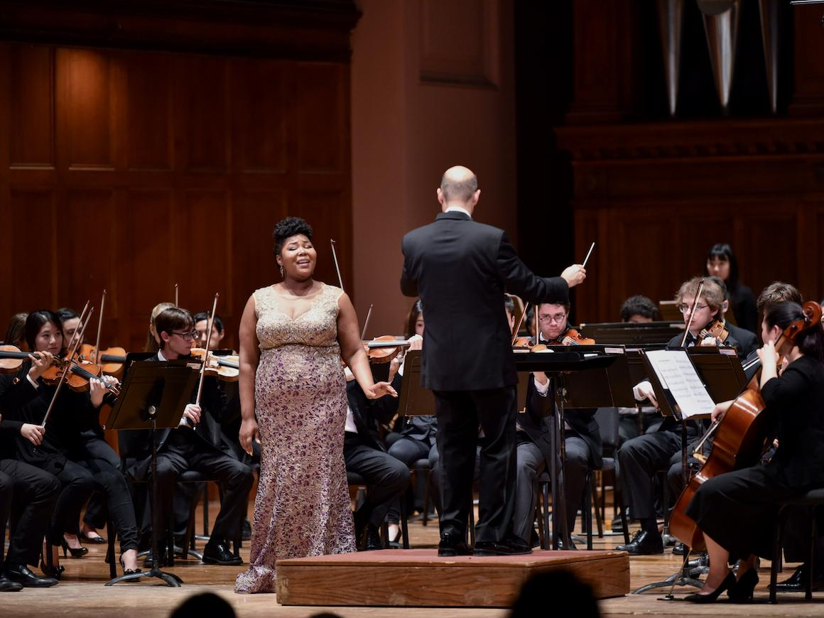soprano soloist with chamber orchestra