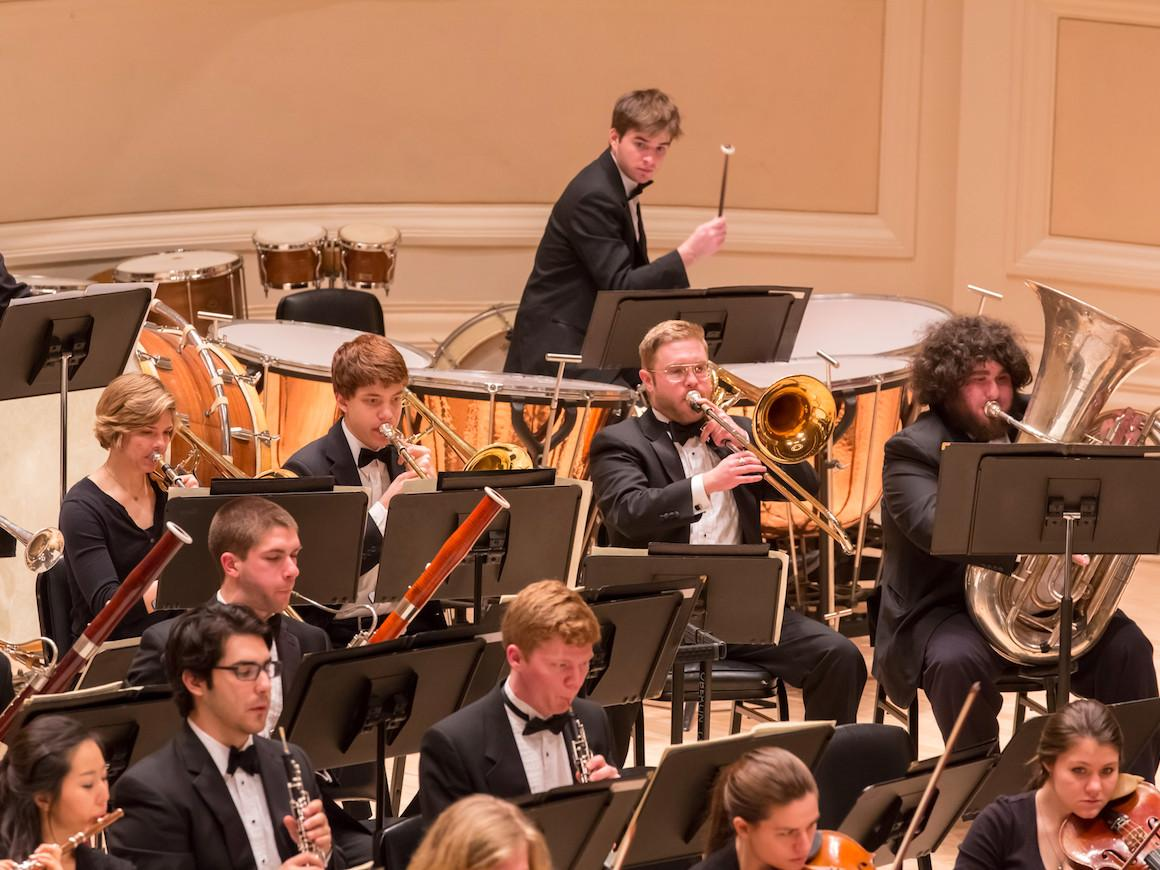 Oberlin Orchestra in Carnegie Hall