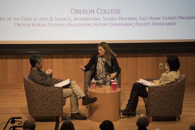 Kathleen Stephens, Sheila Miyoshi Jager, and Jiyul Kim.