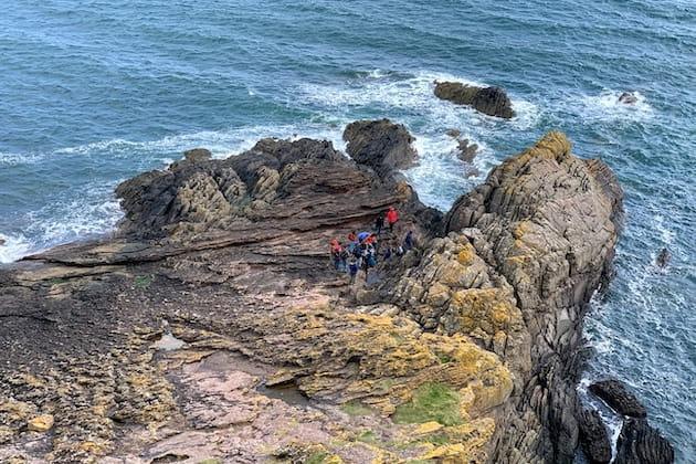Siccar Point, Scotland.