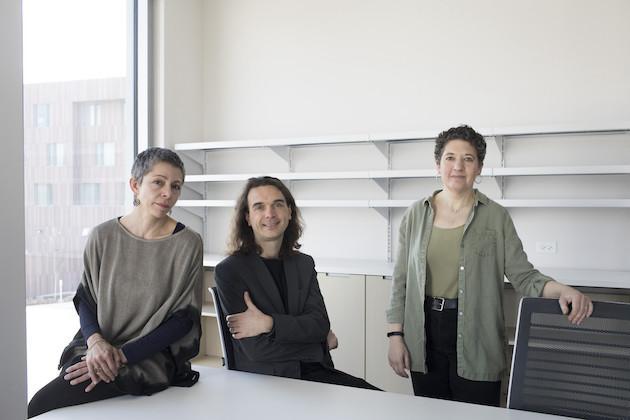 Kristina Mani, Sebastiaan Faber and Renee Romano.