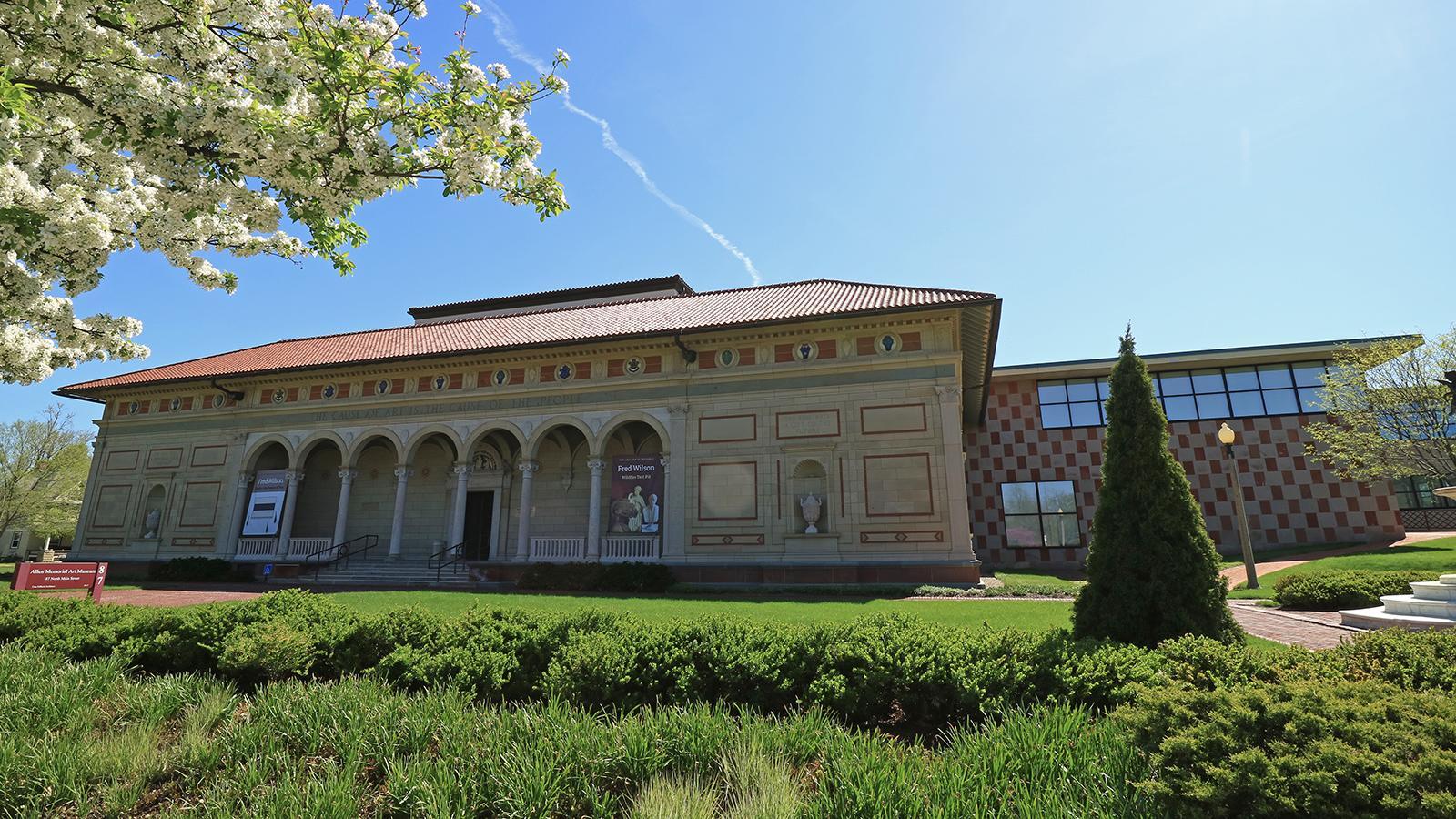 Allen Memorial Art Museum exterior