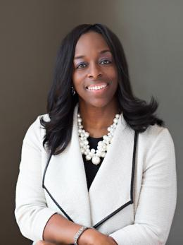 Photo of Oberlin College President Carmen Twillie Ambar