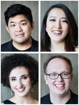 Verona Quartet members.