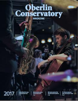 conservatory magazine cover