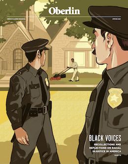 OAM cover, Spring 2021. Featured story: 'Black Voices.'