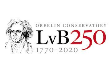 grphic logo for beethoven 250th anniversary.