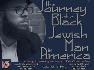 The Journey of a Black Jewish Man in America.