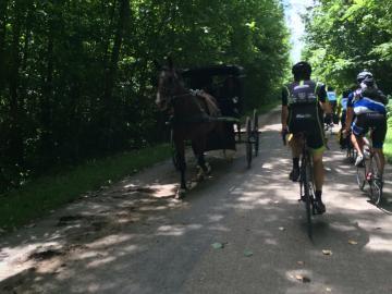 Photo of the Oberlin Bike Path
