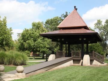 Photo of Clark Bandstand