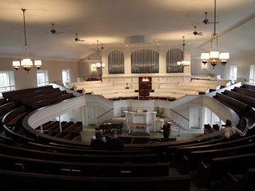 Photo of First Church in Oberlin