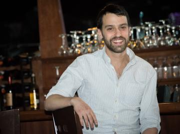 Former Oberlin double-degree student Gabe Pollack