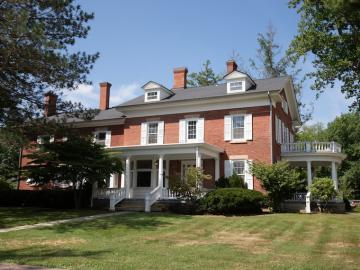 exterior of burrell king house