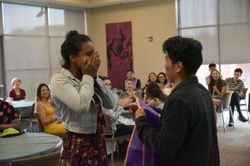 Student Receiving Stole