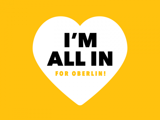 I'm all in for Oberlin!
