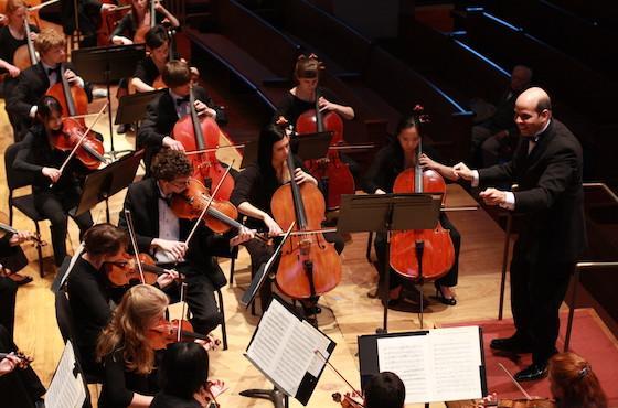 Oberlin Orchestra in Finney Chapel