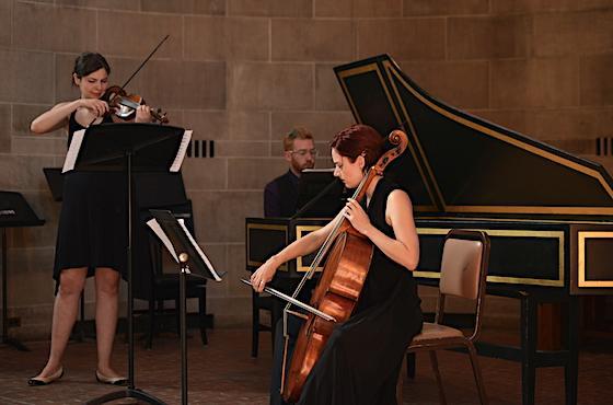 trio of musicians