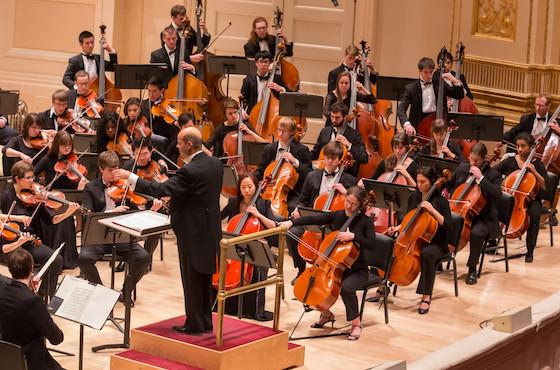 Oberlin Orchestra at Carnegie Hall
