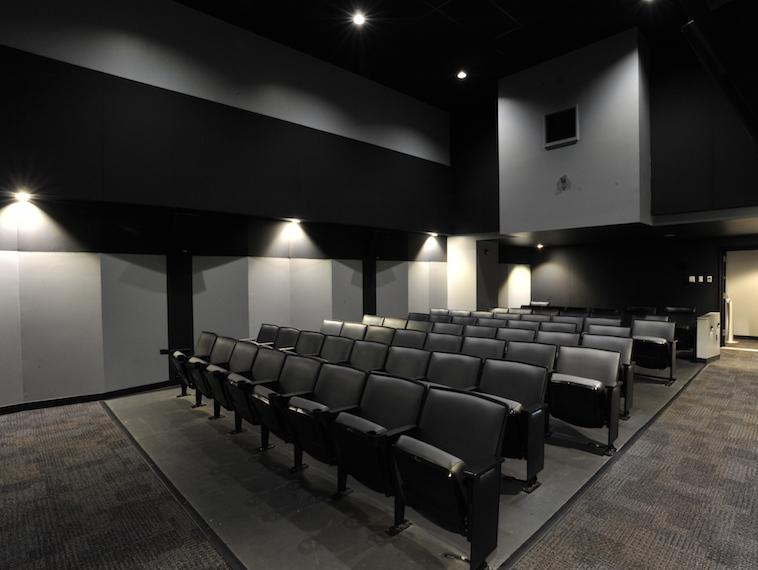 image of screening room seating area