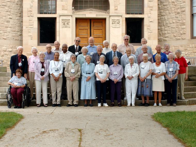 1946, 1947, 1948 class reunion photo