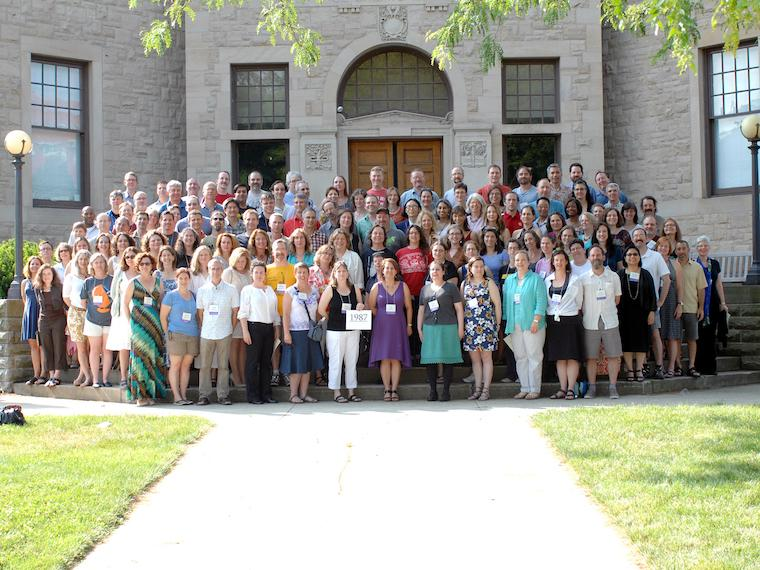 Photo of Class of 1987 at CRW 2012