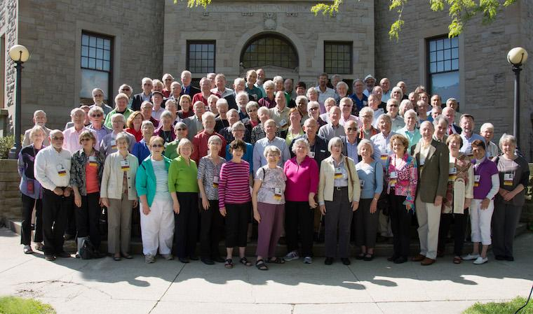 Photo of Class of 1964 at CRW 2014