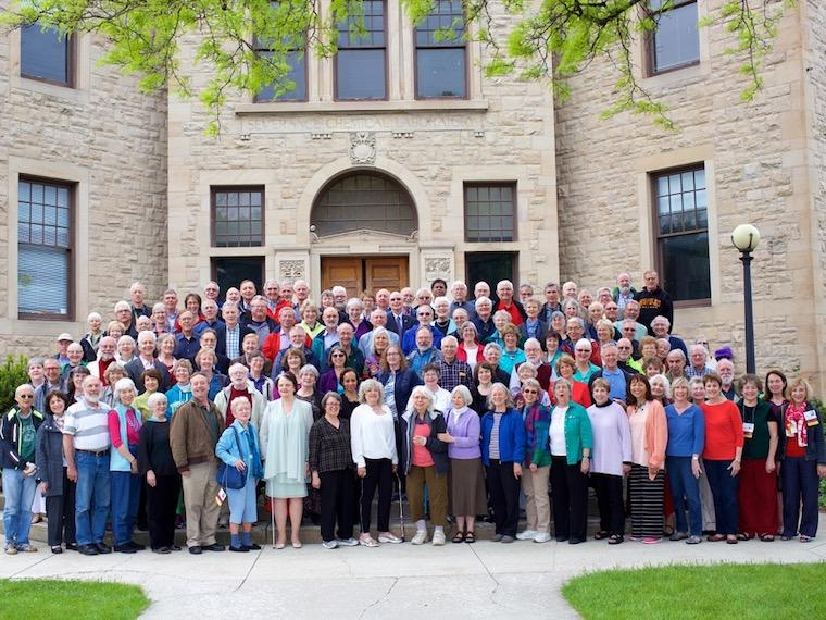 Photo of Class of 1966 at CRW 2016