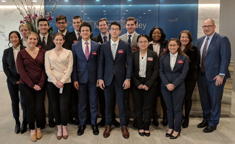 Business Scholars at Morgan Stanley