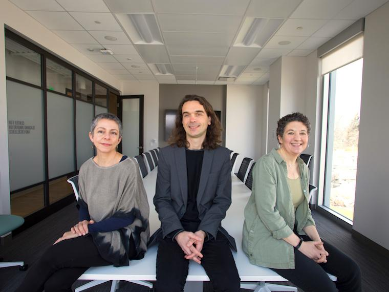 Photo of  Kristina Mani, Sebastiaan Faber, Renee Romano