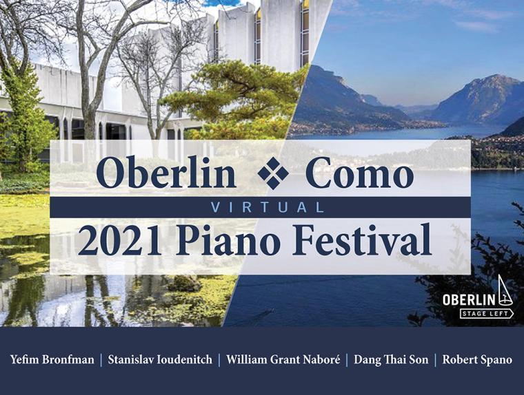 Oberlin Como - 2021 Piano Festival