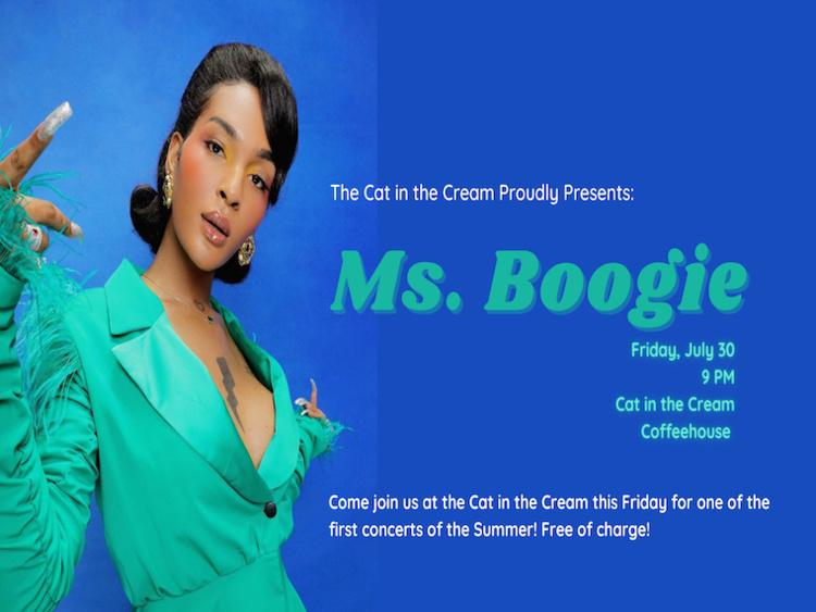 Ms. Boogie.