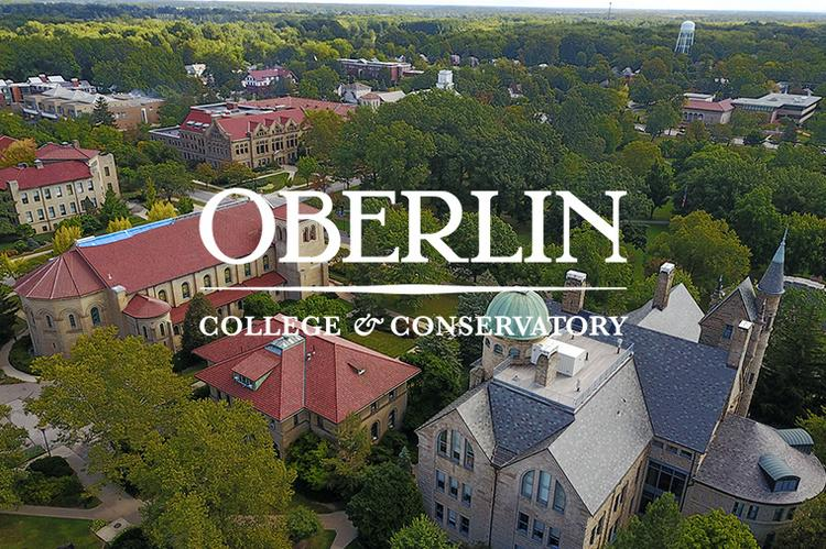 aerial view of oberlin college