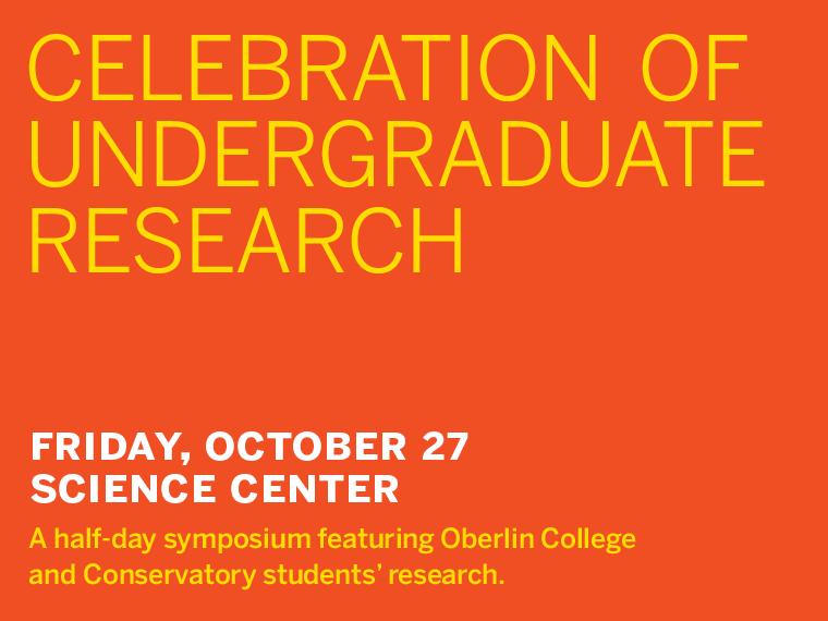 Celebration of Undergraduate Research