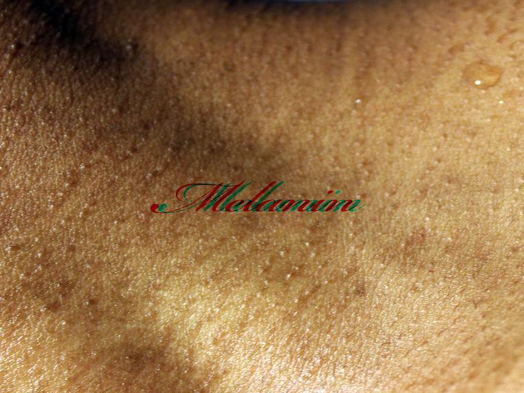 "Nyquon Watson's piece ""Melanin"""