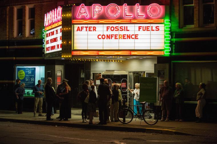 """Apollo Theater presents """"After Fossil Fuels Conference"""""""