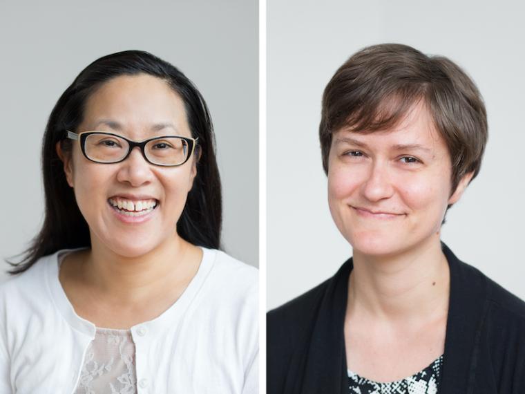 Aurie Hsu and Abby Aresty.
