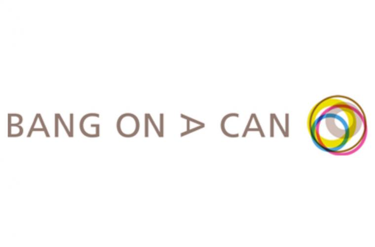 Bang on a Can (logo with colorful circles)