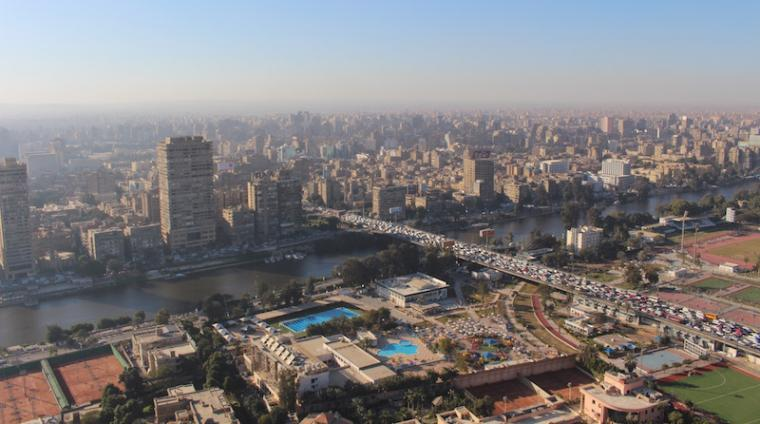 A view of Cairo, Egypt's sprawling capital