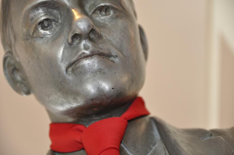 statue of Charles Martin Hall
