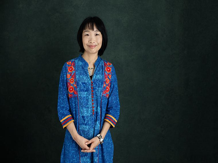 Chie Sakakibara portrait.